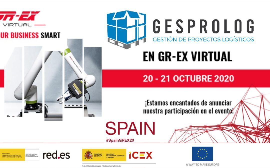 Gesprolog asiste a la Feria de robótica y automatización GR-EX 2020 – Edición Virtual